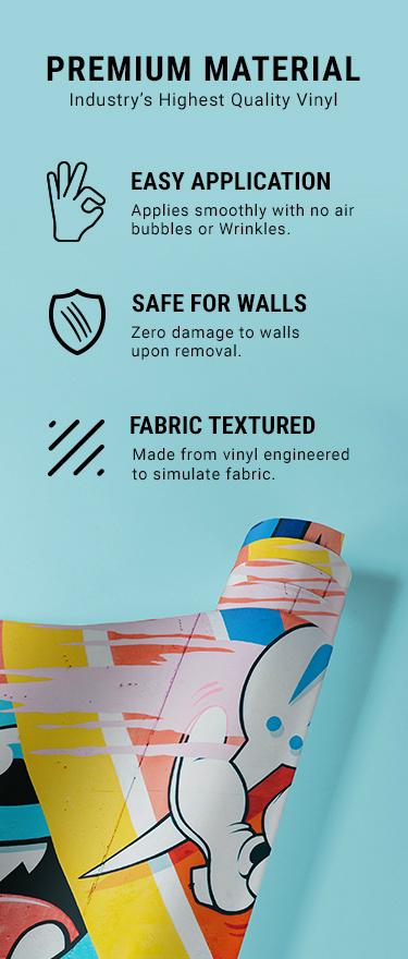 Custom Poster Cut Wall Skin 5