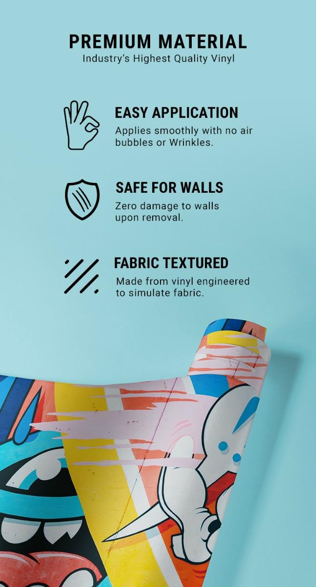 Custom Poster Cut Wall Skin 3